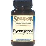 # Swanson Ultra Pycnogenol 100 mg 30 แคปซูล สารสกัดจากเปลือกสนฝรั่งเศส เปลือกสนมาริไทม์ สุดยอดอาหารเสริม รักษาฝ้า กระ ต้านอนุมูลอิสระ ผิวขาว หน้าใส