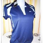 เสื้อกีฬา ผู้หญิง สีกรมท่า Ad002
