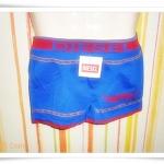 กางเกงในชาย เนื้อนุ่ม สีน้ำเงิน D001