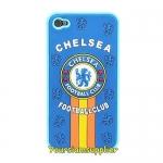 เคส iphone 4 ซิลิโคนอย่างดี ลายทีมฟุตบอล Chelsea