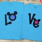 เสื้อคู่รัก LOVE มิกky สวยๆ เลิศๆคร่าา