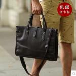 กระเป๋าผู้ชาย   กระเป๋าหนังแฟชั่นชาย กระเป๋าเอกสาร แฟชั่นฮ่องกง