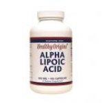 Healthy Origins Alpha Lipoic Acid (ALA) 600 mg 150 Capsules
