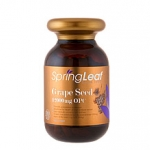 Spring leaf Grape seed 12000 mg รุ่นพรีเมี่ยม ขนาด 180 แคปซูล ต้านอนุมูลอิสระ ผิวขาวใส ไร้ฝ้ากระ ช่วยเสริมฤทธิ์กลูต้าไธโอน
