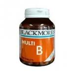 Blackmores Multi-B อาหารเสริมวิตามินบีช่วยบำรุงผิวพรรณ ผม เเละประสาท เเละลดอาการอ่อนเพลียจากผู้ที่พักผ่อนน้อยเเละออกกำลังกาย  120 เม็ด