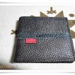 กระเป๋าสตางค์ผู้ชาย หนังแท้ Levis สีเทา L006