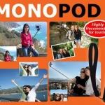 ไม้ Monopod ขาถ่ายรูปตัวเองมุมสูงพร้อม รีโมทชัตเตอร์  **ยืดหดได้