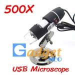 Pre-Order กล้องจุลทรรศน์ USB Microscope กำลังขยาย 500X มีไฟส่องในตัว (พรีออเดอร์ รับสินค้าภายใน 7 วัน)