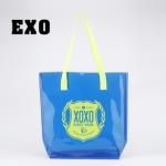 กระเป๋าสะพาย PVC EXO XOXO Blue
