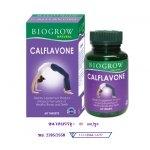 Biogrow Calflavone Natural ขนาด 60 เม็ด แคลเซียมผสมจมูกถั่วเหลืองและวิตามินต่างๆ ช่วยเพิ่มและเสริมความแข็งแรงของกระดูก