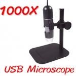 (พร้อมส่ง) กล้องจุลทรรศน์ USB Microscope กำลังขยาย 1000X ฐานพลาสติก