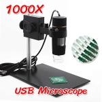 (พร้อมส่ง) กล้องจุลทรรศน์ USB Microscope 1000X + Stand (แถมฟรีแว่นขยาย 40X)