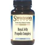 Swanson Royal Jelly Propolis Complex 120 เม็ด (USA) เข้มข้น 6%HDA อีกทั้งผสมเกสรผึ้งและพรอพอลิส ช่วยบำรุงผิวพรรณ เสริมภูมิต้านทาน (ดีกว่าตัวที่โดมทาน)