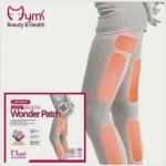 Mymi Wonder Patch แผ่นแปะสลายไขมัน แขนเล็ก ขาเรียว