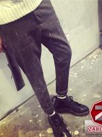 กางเกงผู้ชาย | กางเกงแฟชั่นผู้ชาย กางเกงลำลองขายาว แฟชั่นไต้หวัน