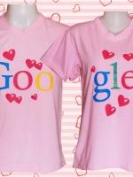 เสื้อคู่รัก ลายน่ารักฝุดๆ Cotton 100%