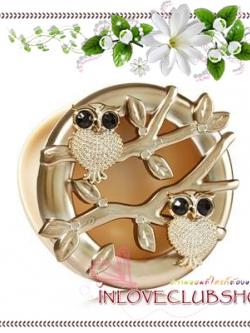 Bath & Body Works - Slatkin & Co / Scentportable Holder (Champagne Owl Branch)