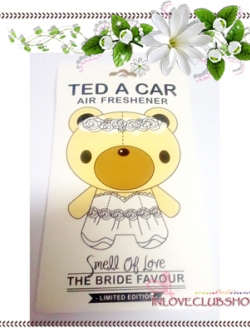 Ted A Car / Air Freshener (The Bride) *Limited Edition