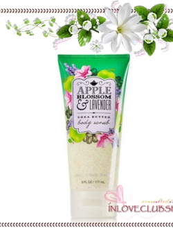 Bath & Body Works / Shea Butter Body Scrub 177 g. (Apple Blossom & Lavender) *Limited Edition