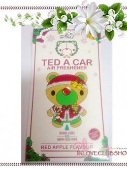 Ted A Car / Air Freshener (Red Apple) *Limited Edition