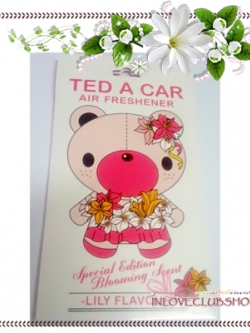 Ted A Car / Air Freshener (Lily) *Limited Edition