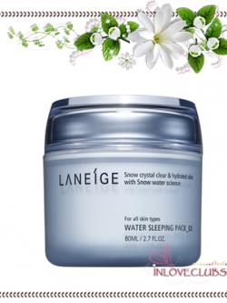 Laneige Water Sleeping Pack EX 80 ml. *กล่องครบ