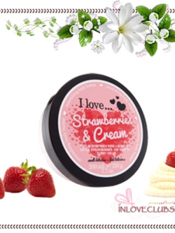 I Love... / Body Butter 200 ml. (Strawberries & Cream)