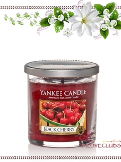 Yankee Candle / Small Tumbler Candle (single wick) 7 oz. (Black Cherry)