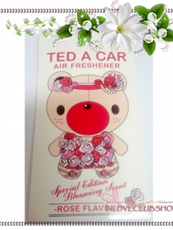 Ted A Car / Air Freshener (Rose) *Limited Edition