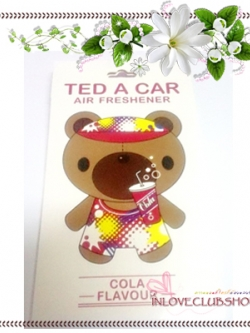Ted A Car / Air Freshener (Cola) *Limited Edition