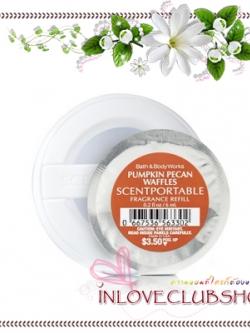 Bath & Body Works - Slatkin & Co / Scentportable Refill 6 ml. (Pumpkin Pecan Waffles)