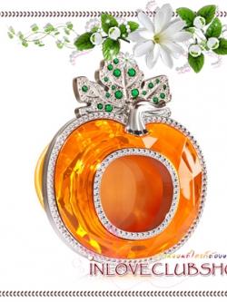 Bath & Body Works - Slatkin & Co / Scentportable Holder (Orange Pumpkin)