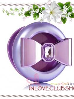 Bath & Body Works - Slatkin & Co / Scentportable Holder (Purple Gem Bow)