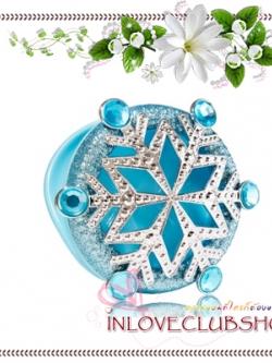Bath & Body Works - Slatkin & Co / Scentportable Holder (Snowflake)