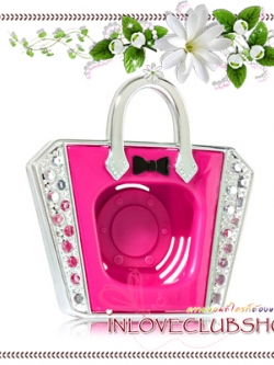 Bath & Body Works - Slatkin & Co / Scentportable Holder (Pink Handbag Magnet)