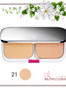 ZA / True White Plus Two-way Foundation SPF20 PA++ (Refill #21) *กล่องครบ