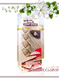 Yankee Candle / Car Vent Sticks (Peppermint Bark)