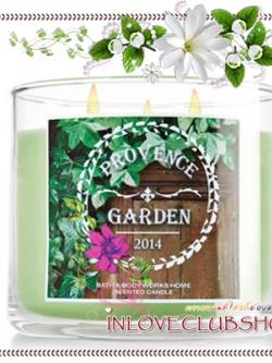 Bath & Body Works Slatkin & Co / Candle 14.5 oz. (Provence Garden) *Limited Edition