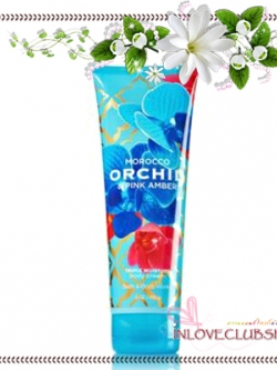 Bath & Body Works / Body Cream 226 ml. (Morocco Orchid & Pink Amber) *Limited Edition 2014