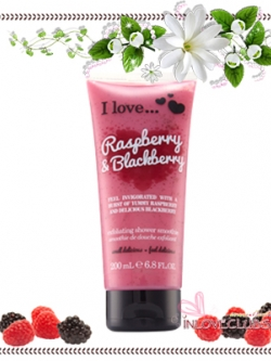 I Love... / Exfoliating Shower Smoothie 200 ml. (Raspberry & Blackberry)