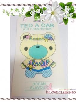 Ted A Car / Air Freshener (Ocean) *Limited Edition