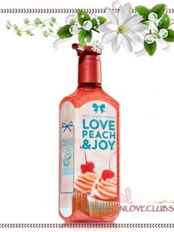 Bath & Body Works / Deep Cleansing Hand Soap 236 ml. (Love Peach Joy)