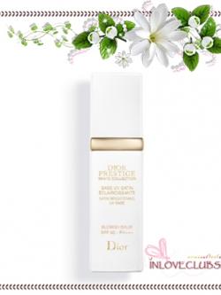 Christian Dior / Prestige White Collection Satin Brightening UV Base, Blemish Balm SPF50 PA+++ 30 ml. *Tester กล่องขาว ขนาดปกติ