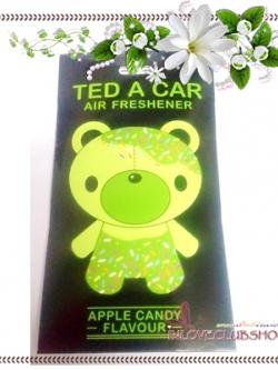 Ted A Car / Air Freshener (Apple Candy)