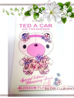 Ted A Car / Air Freshener (Blossom) *Limited Edition