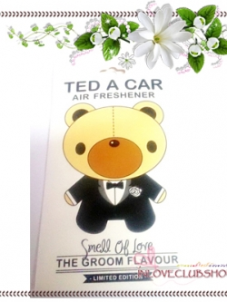 Ted A Car / Air Freshener (The Groom) *Limited Edition