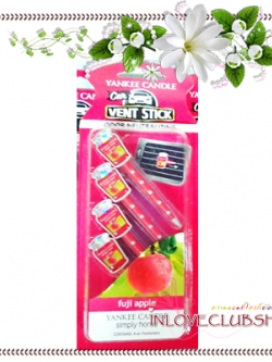 Yankee Candle / Car Vent Sticks (Fuji Apple)