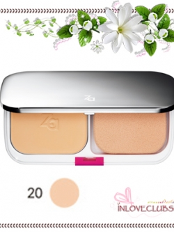 ZA / True White Plus Two-way Foundation SPF20 PA++ (Refill #20) *กล่องครบ