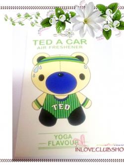 Ted A Car / Air Freshener (Yoga) *Limited Edition