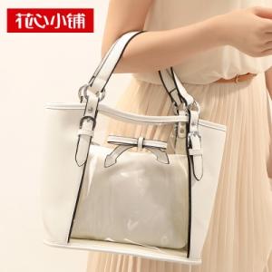 กระเป๋าสะพาย สีขาว-Axixi